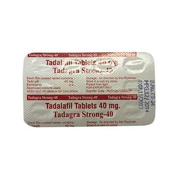 Compre en línea Tadagra Strong 40mg esteroides legales